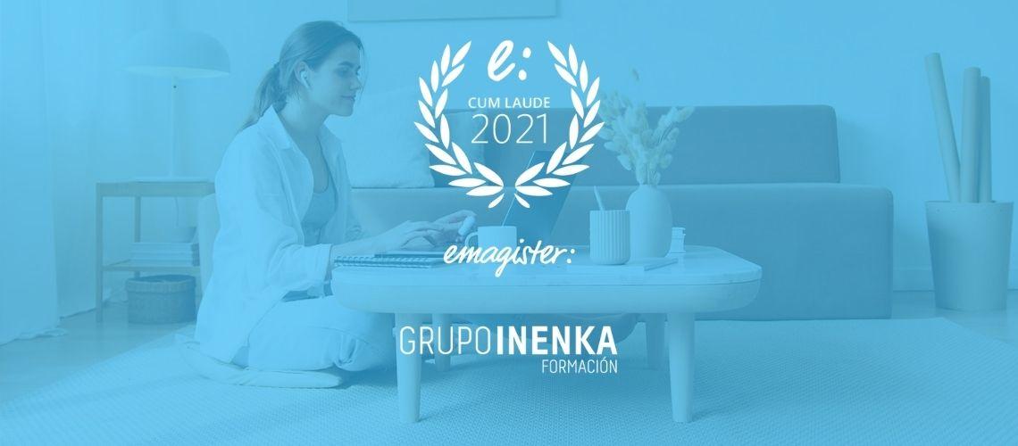 Las escuelas de Grupo Inenka han sido premiadas con el Sello Cum Laude 2021 de Emagister