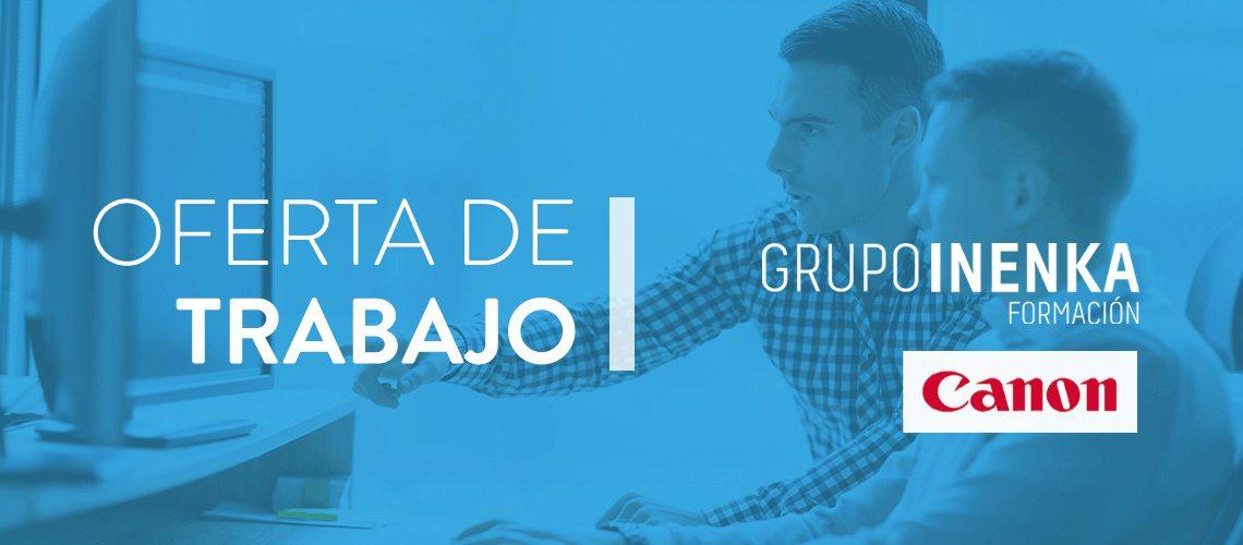 Trabajo de order management coordinator en Canon España